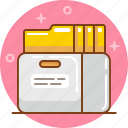 archive, docs, documents, files, folder icon