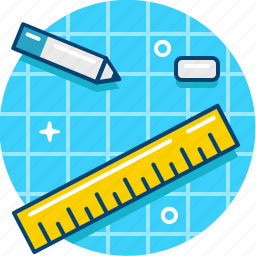 architect, blueprint, design, engineering, prototyping, tool icon