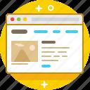 browser, explorer, homepage, internet, site, website icon