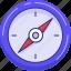 compas, navigation icon