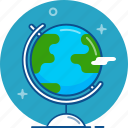 earth, globe, international, planet, world icon