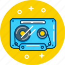audio, cassette, music, tape icon