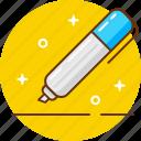 edit, felt, pen, pencil, write icon