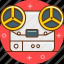 movie, player, tape, video icon