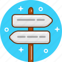 navigation, pointer, sign icon
