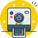 camera, instagram, photo, polaroid icon