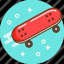 board, fun, skate, skateboard, sport icon
