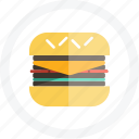 food, hamburger burger icon