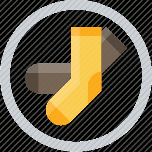 foot, sock stocking, toe icon