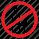 alcohol, ban, drunk, no, notice, sign, wine icon