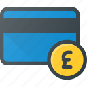 bank, card, money, pound