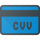 action, bank, card, cvv, security icon