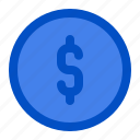 banking, business, currency, dollar, finance, payment, saving icon