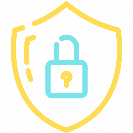 lock, password, protect, safety, security, shild icon