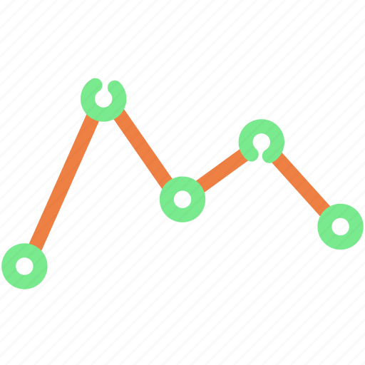 analysis, business, chart, data, graph, line graph, report icon