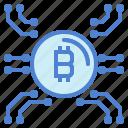 banking, bitcoin, finance, money icon