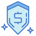 defense, protection, security, shield icon