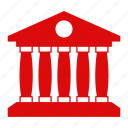 bank, building, business, construction, finance, money icon