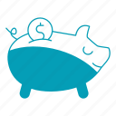 bank, banking, business, cash, piggy icon