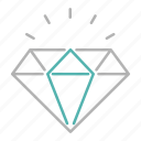 banking, gemstone, jewel, precious, stone icon