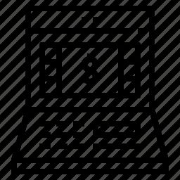 atm, machine icon
