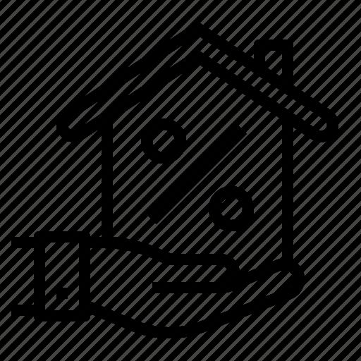 house, loan icon