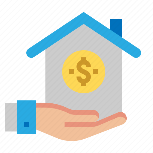 growth, home, income, loan icon