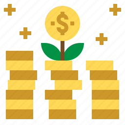 business, growth, income, profit icon
