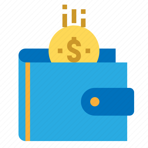 business, finance, money, wallet icon