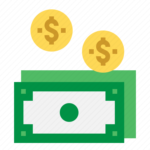 cash, coin, money, payment icon