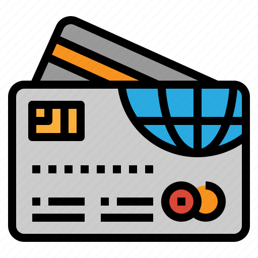 card, credit, money, payment icon