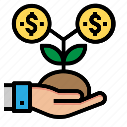 business, growth, investment, money icon