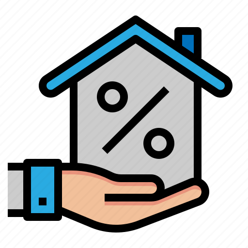 house, loan, mortgage, price icon