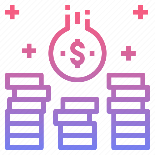 coin, income, investment, money icon