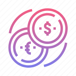 currency, exchange, finance, money icon