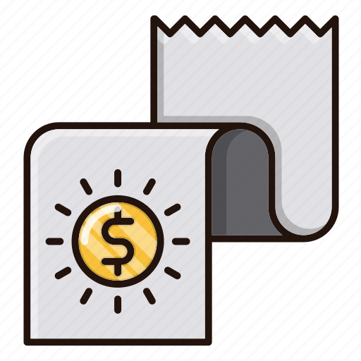 banking, currency, financial, money, report icon
