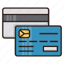 banking, card, credit, online, payment icon