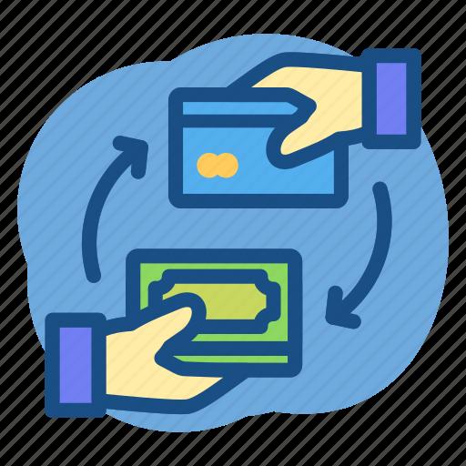 Banking, card, cash, deposit icon - Download on Iconfinder