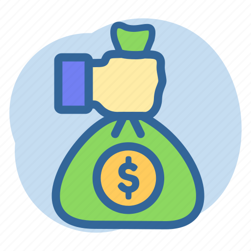 Banking, giving money, money, pouch icon - Download on Iconfinder