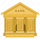 bank, banking, building, finance, house, saving icon