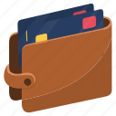 cards, credit card, debit card, money, saving, wallet icon
