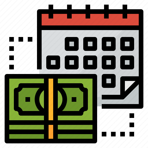 installment, loan, monthly, payment icon