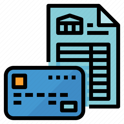 bank, document, loan, statement icon