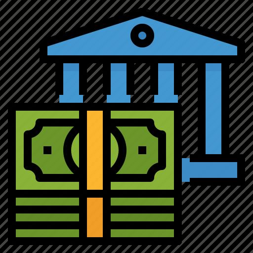 bank, banking, finance, money, saving icon