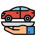 bank, buy, car, loan icon