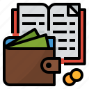 expense, finance, money, saving icon