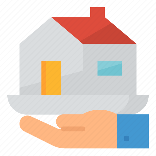bank, housing, loan, money icon