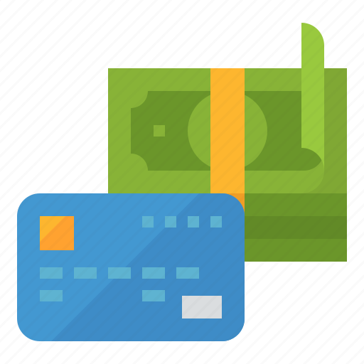 card, dollars, money, payment icon