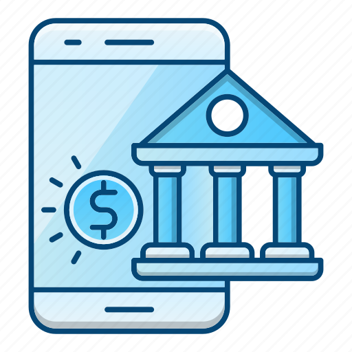 Banking, mobile, online, phone icon - Download on Iconfinder