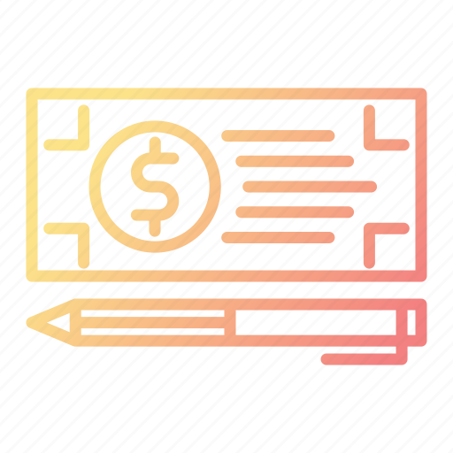 Bank, banking, check, payment icon - Download on Iconfinder